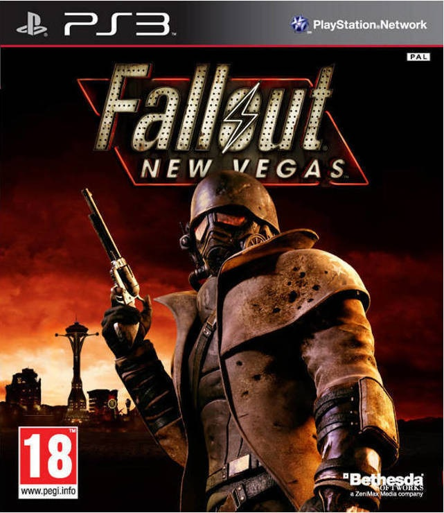 Fallout New Vegas - PS3 Game gaming games paixnidia ps3