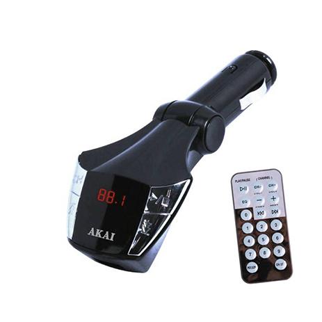 FM Transmitter Akai FMT-21 hlektrikes syskeyes texnologia eikona hxos hxosysthmata aytokinhtoy