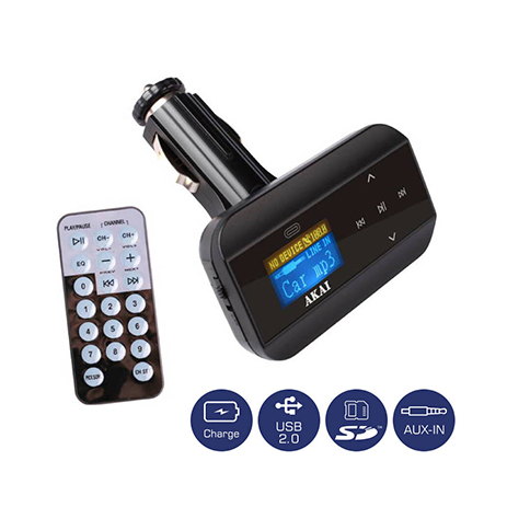 FM Transmitter Akai FMT-30 hlektrikes syskeyes texnologia eikona hxos hxosysthmata aytokinhtoy