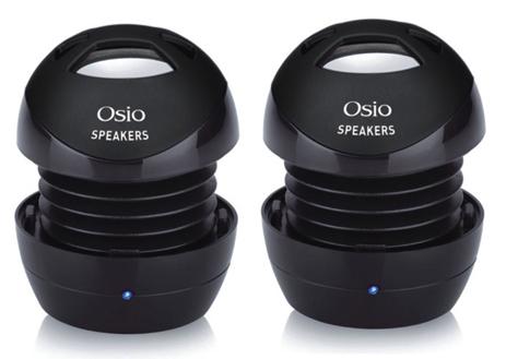 Φορητά Ηχεία Osio OSS-400B Μαύρα hlektrikes syskeyes texnologia perifereiaka ypologiston hxeia