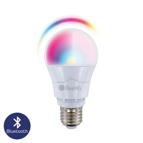 Πολύχρωμη Λάμπα Led Bluetooth 9w E27 Beewi BLR09 hlektrikes syskeyes texnologia hlektrologikos ejoplismos lampthres led