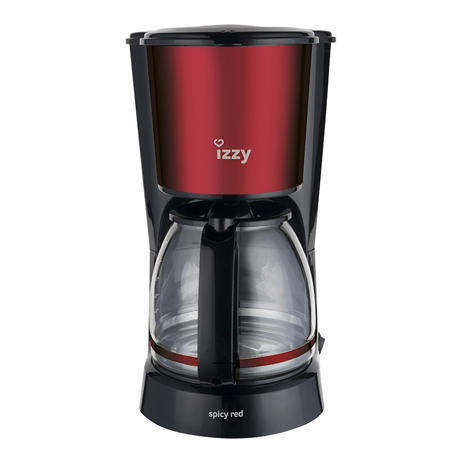 Καφετιέρα Φίλτρου Izzy Spicy Red (222824)