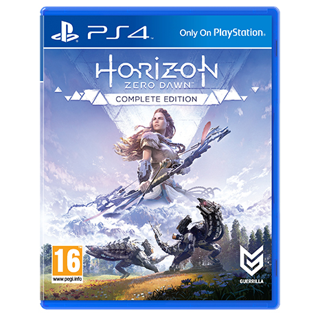 Horizon Zero Dawn Complete Edition - PS4 Game gaming games paixnidia ps4