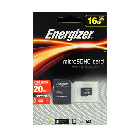 Κάρτα Micro SDHC Energizer CL 16GB (FMDAAC016A) hlektrikes syskeyes texnologia perifereiaka ypologiston kartes mnhmhs