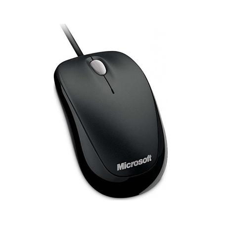 Microsoft Mouse Compact Optical 500 Black hlektrikes syskeyes texnologia perifereiaka ypologiston pontikia