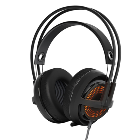 Steelseries Headset Siberia 350 Black gaming perifereiaka gaming pc akoystika