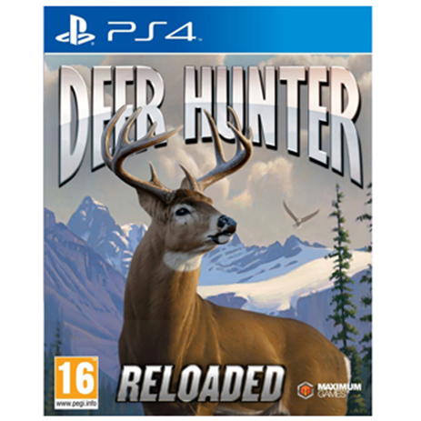 Deer Hunter Reloaded - PS4 Game gaming games paixnidia ps4