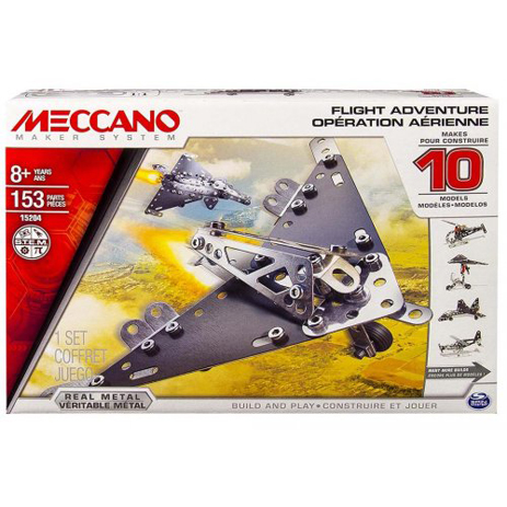 Meccano Παιχνίδι Κατασκευών 10 Model Set - Flight Adventure (91786) paixnidia hobby paixnidia ekpaideytiko