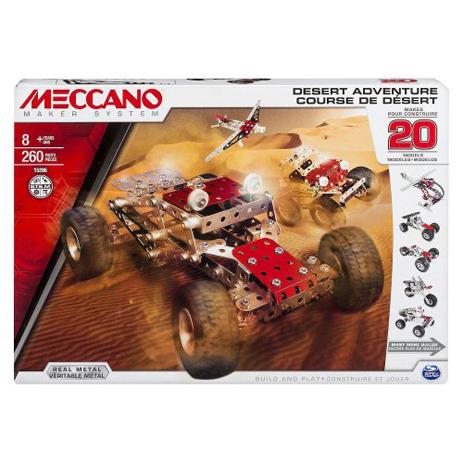 Meccano Παιχνίδι Κατασκευών 20 Model Set - Desert Adventure (91775) paixnidia hobby paixnidia ekpaideytiko
