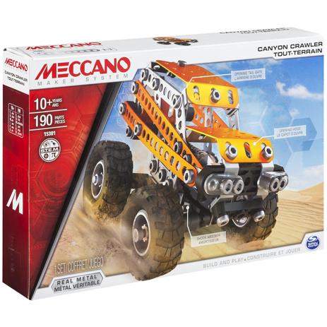 Meccano Παιχνίδι Κατασκευών Canyon Crawler (91779) paixnidia hobby paixnidia ekpaideytiko