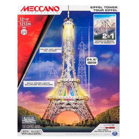 Meccano Παιχνίδι Κατασκευών Eifel Tower (91760)