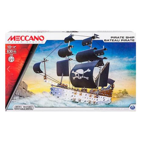 Meccano Παιχνίδι Κατασκευών Pirate Ship (91781) paixnidia hobby paixnidia ekpaideytiko