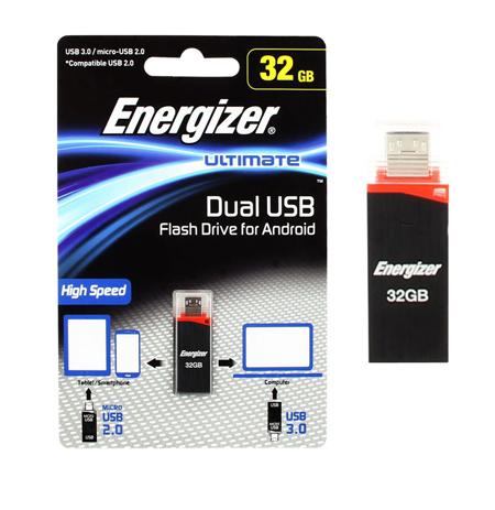 USB Drive Energizer HT 32GB OTG USB Drive Android (FOTANU032R) hlektrikes syskeyes texnologia perifereiaka ypologiston usb stick