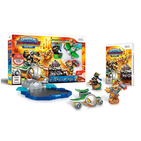 Skylanders Superchargers Starter Pack - WII Game gaming games paixnidia wii