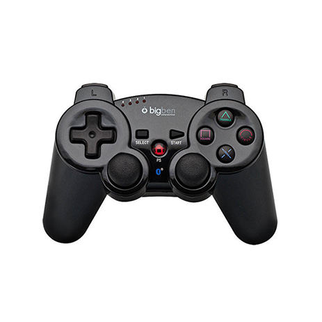 Big Ben Bluetooth Controller Metal Color - PS3 Controller gaming perifereiaka gaming ps3 xeiristhria