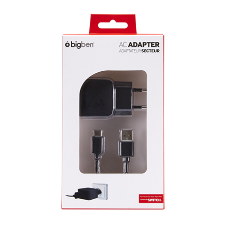 Big Ben AC Adaptor - Nintendo Switch Accessory gaming perifereiaka gaming nintendo switch ajesoyar