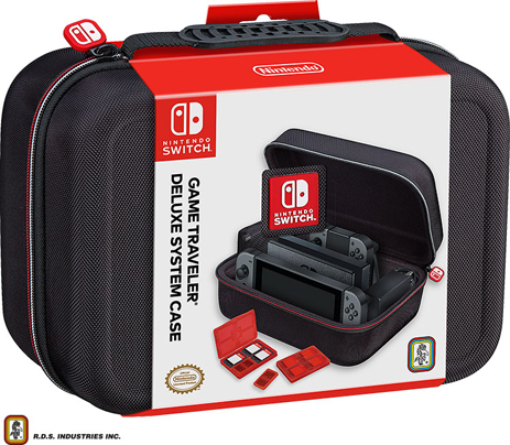 Big Ben Official Suitcase - Nintendo Switch Accessory gaming perifereiaka gaming nintendo switch ajesoyar
