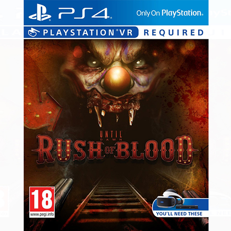 Until Dawn: Rush of Blood (VR) - PS4 Game gaming games paixnidia ps4