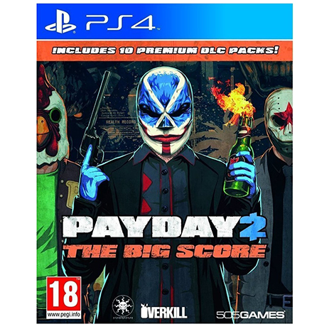 Payday 2 The Big Score - PS4 Game gaming games paixnidia ps4