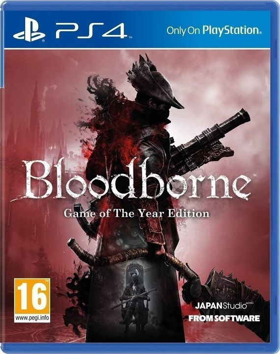 Bloodborne Game Of The Year - PS4 Game gaming games paixnidia ps4