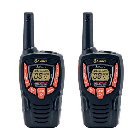 Walkie-Talkie Cobra AM-845 B Μαύρο paixnidia hobby gadgets diafora