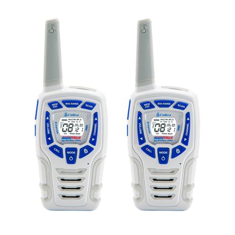Walkie-Talkie Cobra AM-845 W Ασπρο paixnidia hobby gadgets diafora