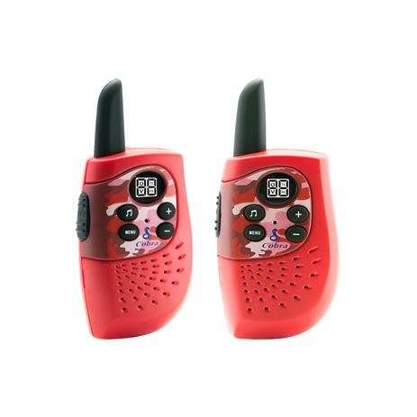 Walkie-Talkie Cobra HM-230 R Κοκκινο paixnidia hobby gadgets diafora