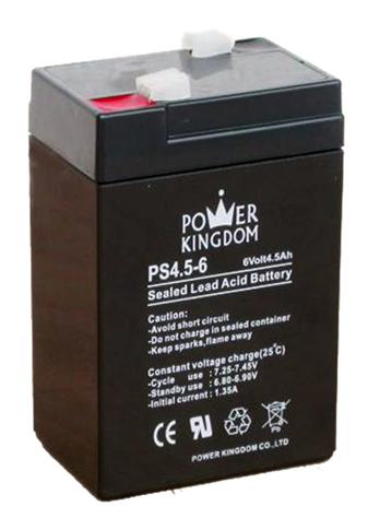 Μπαταρία Μολύβδου Power Kingdom PS4.5-6 hlektrikes syskeyes texnologia hlektrologikos ejoplismos mpataries