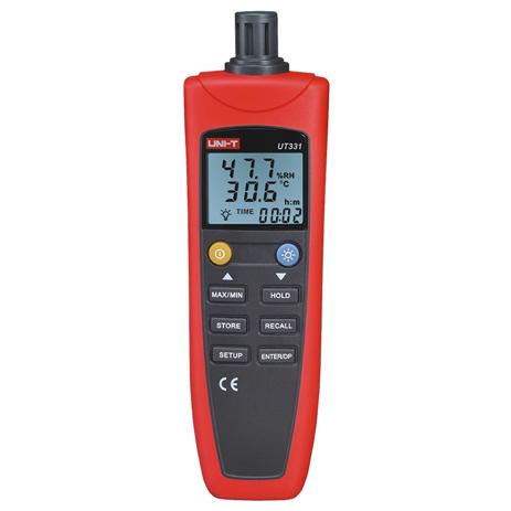 Υγρόμετρο-Θερμόμετρο Unit-T UT-331 paixnidia hobby gadgets meteorologikoi staumoi