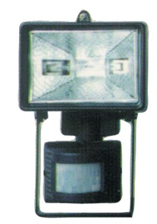 Ανιχνευτής Κίνησης με Προβολέα OEM HPL-150/B Μαύρος khpos outdoor camping khpos beranta fotistika ejoterikoy xoroy