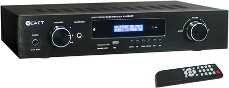 Ενισχυτής Ήχου Koda-React AV-1305R Μαύρος hlektrikes syskeyes texnologia eikona hxos home cinema