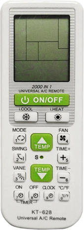 Τηλεχειριστήριο Air-Condition OEM KT-628 hlektrikes syskeyes texnologia klimatismos uermansh ajesoyar