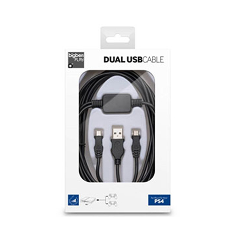 Big Ben Dual Charge USB Cable 3M - PS4 Accessory gaming perifereiaka gaming ps4 ajesoyar