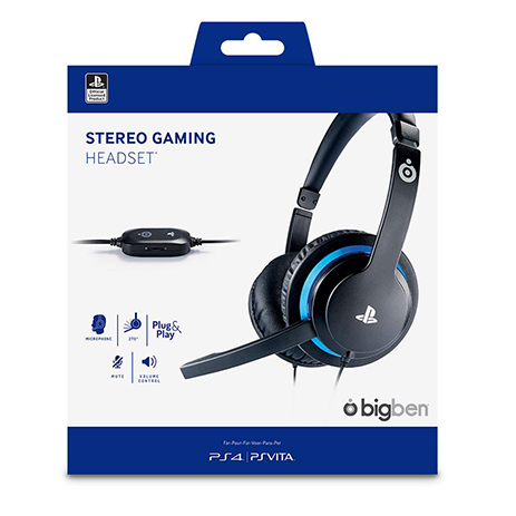 Big Ben Stereo Gaming Headset V2 - PS4 Accessory gaming perifereiaka gaming ps4 ajesoyar