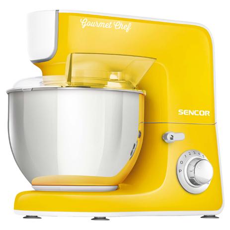 Κουζινομηχανή Sencor STM 3776YL 1000W Κίτρινη hlektrikes syskeyes texnologia oikiakes syskeyes koyzinomhxanes