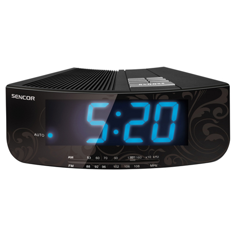 Ψηφιακό Ράδιο-Ρολόϊ Sencor SRC 108 B hlektrikes syskeyes texnologia eikona hxos radiocdhi fi