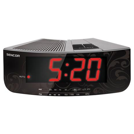 Ψηφιακό Ράδιο-Ρολόϊ Sencor SRC 108 S hlektrikes syskeyes texnologia eikona hxos radiocdhi fi
