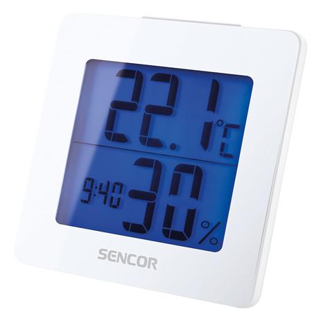 Θερμόμετρο-Ξυπνητήρι Sencor SWS 1500 W Λευκό paixnidia hobby gadgets meteorologikoi staumoi