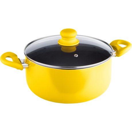 Κατσαρόλα 5,2L Lamart LT1025 Κίτρινη