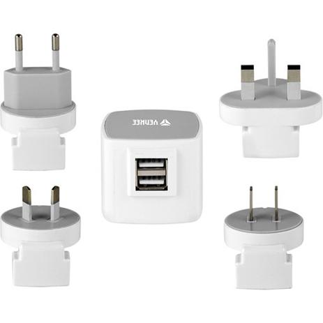 Universal Φορτιστής Ταξιδίου USB Yenkee YAT-202 ergaleia kataskeyes hlektrologikos ejoplismos trofodotika