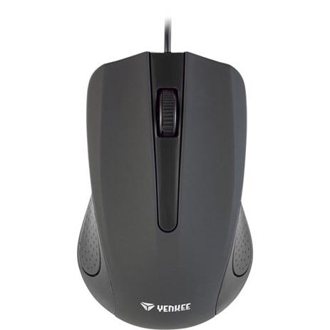 Ποντίκι USB Yenkee YMS-1015BK Suva Μαύρο hlektrikes syskeyes texnologia perifereiaka ypologiston pontikia
