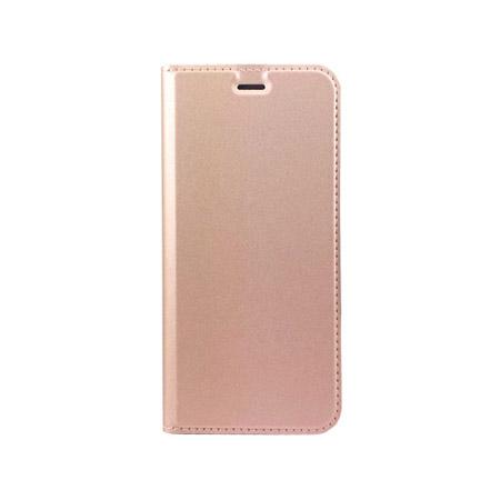 Θήκη Book KLD Skin Pro για Huawei P9 Lite Ροζ Χρυσή (KLDSPROP9LPK) hlektrikes syskeyes texnologia kinhth thlefonia prostateytikes uhkes