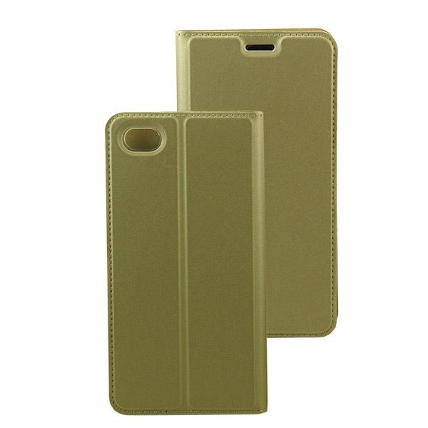 Θήκη Book KLD Skin Pro για Xiaomi Redmi Note 5A Χρυσή (KLDSPRONOTE5AGD) hlektrikes syskeyes texnologia kinhth thlefonia prostateytikes uhkes