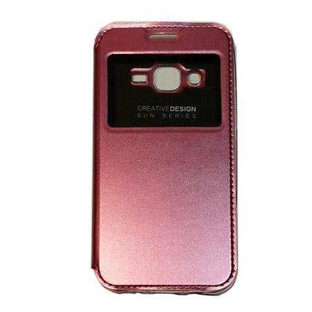 Θήκη Book KLD Sun για Samsung J500 Galaxy J5 Ροζ (KLDSUNJ5PK) hlektrikes syskeyes texnologia kinhth thlefonia prostateytikes uhkes