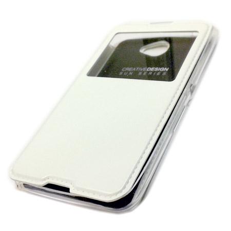 Θήκη Book KLD Sun για Sony Xperia E4 Λευκή (KLDSUNE4WH) hlektrikes syskeyes texnologia kinhth thlefonia prostateytikes uhkes