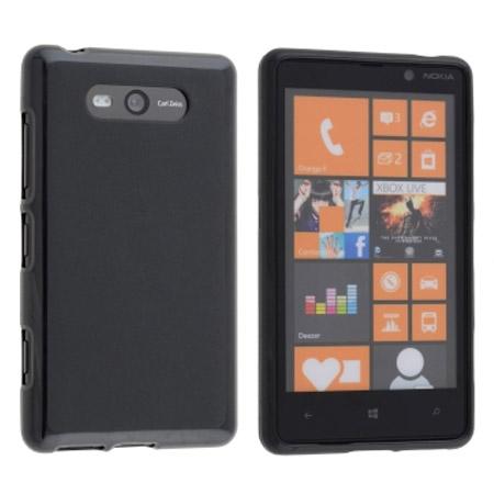 Θήκη TPU για Nokia Lumia 820 Μαύρη Mjoy 0009091149 hlektrikes syskeyes texnologia kinhth thlefonia prostateytikes uhkes