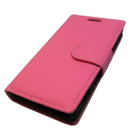 Θήκη Πορτοφόλι Slim για Sony Xperia M Ροζ Mjoy MJ11462 hlektrikes syskeyes texnologia kinhth thlefonia prostateytikes uhkes
