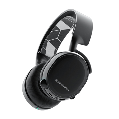 Steelseries Headset Arctis 3 Bluetooth Black gaming perifereiaka gaming pc akoystika