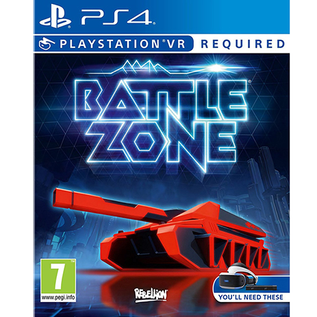 Battlezone (VR) - PS4 Game gaming games paixnidia ps4