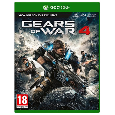 Gears Of War 4 Refreshed 4K - XBox One Game gaming games paixnidia xbox one